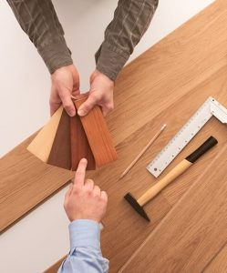 free in-home wood floor consulting services