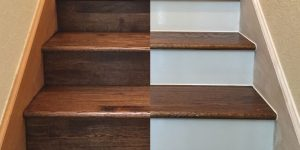 options for your hardwood stair design and look